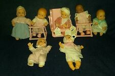 1988 Lewis Galoob Bouncin babies Baby Doll lot Walker high chair Walkin vintage
