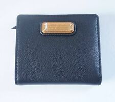 NWT MARC BY MARC JACOBS NEW Q EMI LEATHER SMALL WALLET / BLACK