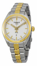 New Tissot PR100 Two-Tone Stainless Steel Women's Watch T1012102203100