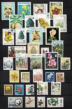 101392/ Blumen und Pflanzen - schönes Lot - o - nichts gerechnet - siehe scan