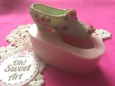 High Heel Shoe 3D silicone mold fondant cake decorating APPROVED FOR FOOD