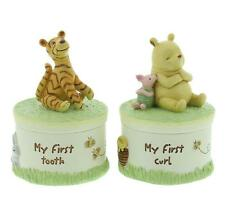 DISNEY WINNIE THE POOH CLASSIC HERITAGE GIFT SET TOOTH AND CURL  DI163
