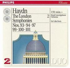 Haydn: The London Symohonies Vol. 2 (CD, 1994, 2 Discs, Philips) Sir Colin Davis