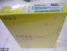 MS Microsoft Office MAC 2011 Home and Student Family Pack For 3MACs =NEW BOX=