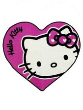 Hello Kitty 'Heart' Shaped Rug Room Deco Brand New Gift