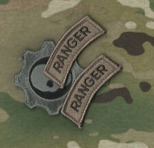 KANDAHAR WHACKER​© US ARMY PATHFINDERS MULTICAM TAB: RANGER x 2 + WAR GEAR SKULL