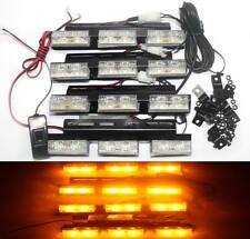 4x6 led Auto Car Truck Grill Flash Strobe Beacon Emergency Light Recovery Yellow