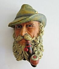 Tyrolean Bossons England Chalkware Character Head Wall Mask Chips No Box