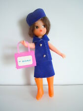 Vintage BRITISH OVERSEAS AIRLINE CORPORATION ( BOAC )  Souvenir Doll Excellent