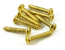 GOLD TUNING MACHINE SCREWS FITS, GROVER, SCHALLER, AND GOTOH TUNERS