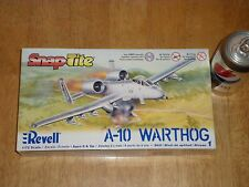 A-10 WARTHOG, USA Ground Attack Plane,Plastic Model Kit,Scale 1:72 SNAP TOGETHER