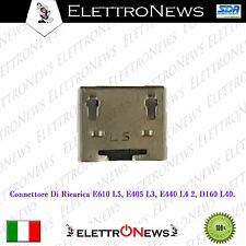 Connettore Micro Usb Plug-in LG E610 Optimus. L5, E405 . L3, E440 L4 2, D160 L40