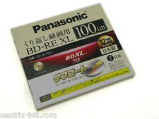Panasonic LM-BE100J BDXL 100GB BD-RE XL Blu-Ray Triple Layer Rewritable Disc