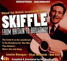 Skiffle: From Britain To Broadway - Various Artists (4CD, Sep-2013, JSP)