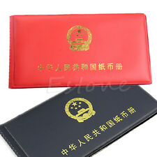 Paper Money Holders Storage Collection Pockets New Album Book Collecting