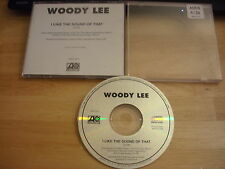 RARE PROMO Woody Lee CD single I Like The Sound Of That country Get Over It 1995