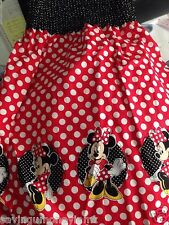 Disney Minnie Mouse  mock  smock fabric by the yard