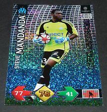 MANDANDA OLYMPIQUE MARSEILLE OM UEFA PANINI FOOTBALL CHAMPIONS LEAGUE 2009 2010