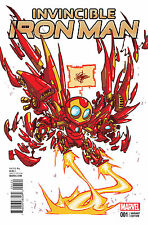 Invincible Iron Man #1 2016 Marvel Comics Skottie Young Variant