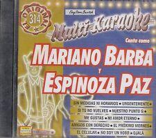 Mariano Barba Espinoza Paz  Karaoke Nuevo sealed