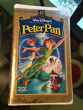Walt Disney 45th Anniversary Limited Edition Peter Pan (1998) VHS