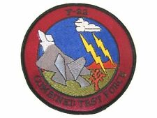 USAF Air Force Military 411th Flight Test SQ F-22 Raptor Black Ops Area 51 Patch