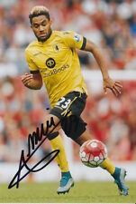 ASTON VILLA HAND SIGNED JORDAN AMAVI 6X4 PHOTO 1.