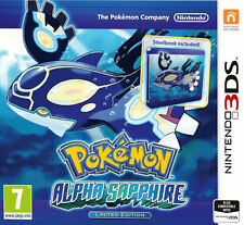 Pokemon: Alpha Sapphire -- Limited Edition (Nintendo 3DS, 2014) brand new