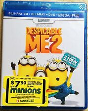 Despicable Me 2 Blu-ray 3D disc only w/case *NO 2D, NO DIGITAL COPY*