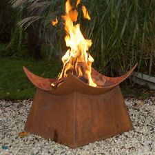 Fire Pit Wood Burning Outdoor Patio Fireplace Backyard Pool Deck Bowl Grill Yard