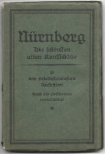 Nürnberg-Booklet with 15 Sepia-tone Postcards, ca. 1900-20