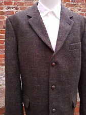 "Stunning Mens Westbury Harris Tweed Country Jacket 48"" Chest *UK 46L*   (HT623)"