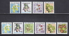 Philippines Stamps 2003 MNH Orchids 1st Prints and Reprints