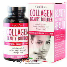 NeoCell Collagen Beauty Builder 150 Tablets hydrated skin FRESH, Made In USA