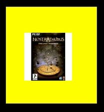 Nostradamus The Last Prophecy Game PC 100% Brand New