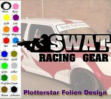 Swat Racing Gear JDM Sticker Aufkleber oem Like Fun Hater Bitch