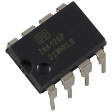 INA126P Burr Brown MicroPower Instrumentation Amplifier Amp DIP-8 856101