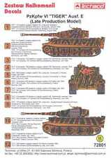 Techmod Decals 1/72 PzKpfw VI TIGER E LATE PRODUCTION