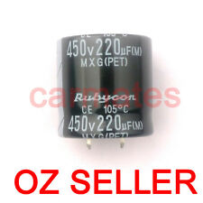 Hot Capacitor 220uf 450V 105°C 30X30mm for Hp LCD Monitor Screen Repair Rubycon