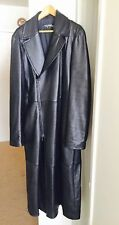 RARE Thierry Mugler Metrix Lamb Leater Coat Mens