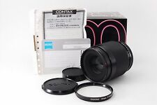 Contax Carl Zeiss Makro Planar 100mm F2.8 W/Box ''Excellent++'' From Japan #817