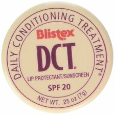 3 Pack Blistex DCT Daily Conditioning Treatment SPF 20 Lip Balm .25 Oz Each
