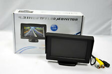 "4.3"" Digital TFT LCD Colour Monitor For Car Rear View Reversing Parking Camera"