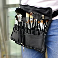 MSQ Professional 32PCs Makeup Brush Set Cosmetic Tool Sable Hair Belt Case Black