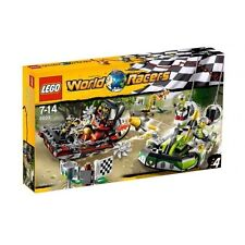LEGO WORLD RACERS GATOR SWAMP SET 8899 BACKYARD BLASTERS XTREME DAREDEVILS *NEW*