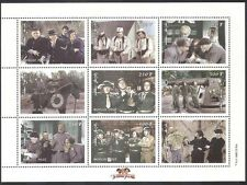 Mongolia 1998 Three Stooges/Military/Army 9v sht n10303