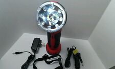 TALLER EXTENDABLE LED WORK FLASH LIGHT MAGNET BASE /w CHARGERS.WALL & CAR