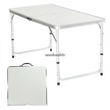 54/61/69cm Adjustable Folding Table In/Out Picnic Party Dining Camp Table CLSV