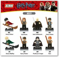 Harry potter construccion 8PCS  Compatible Lego Harry Potter block figures