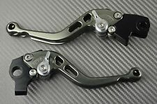 Short brake clutch levers pair CNC titanium Honda CBR 1000 RR 1000RR  2012- 2016